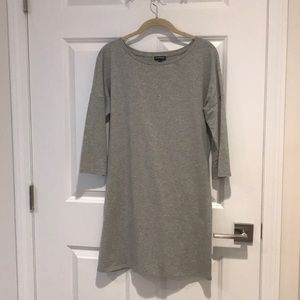 NWOT Express Gray long sleeve dress, SZ L